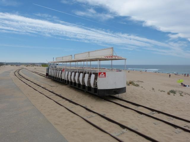 Trem Transpraia Caparica